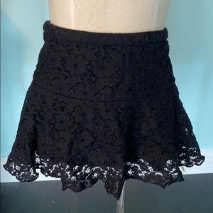 Aritzia Sunday Best lace skirt